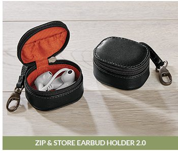 Shop Zip and Store Earbud Holder 2.0