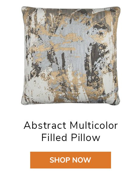 Abstract Multicolor Filled Pillow | SHOP NOW