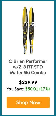 O'Brien Performer w/Z-8 RT STD Water Ski Combo - Shop Now
