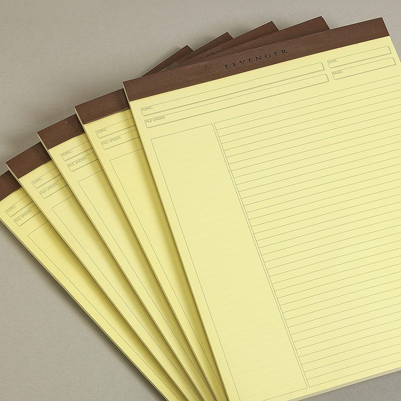 Freeleaf® Yellow Annotation Ruled Pads
