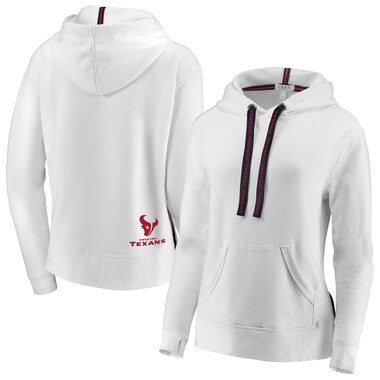 Houston Texans WEAR By Erin Andrews Women's Pullover Hoodie - White
