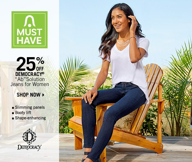 Shop 25% Off Democracy ''Ab''Solution Jeans for Women