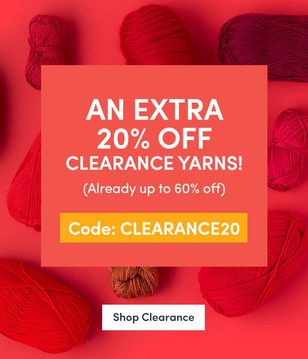 TODAY ONLY 20% off clearance + ENDS TONIGHT: 30% off Paintbox aran