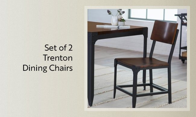 Set of 2 Trenton Dining Chairs
