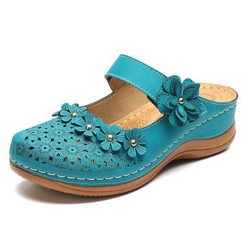LOSTISY Flower Shoes