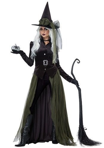 Women's Cool Witch Costume