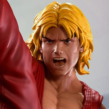 Ken Masters with Dragon Flame Statue by PCS Collectibles