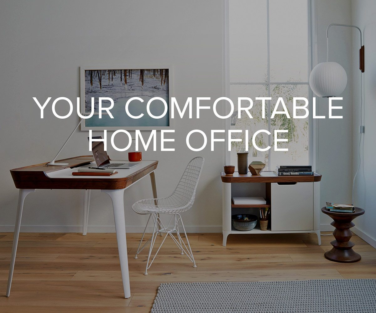 Your Comfortable Home Office.