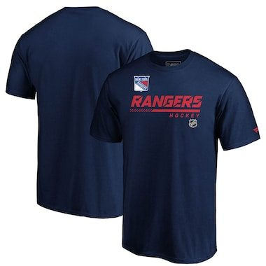 Fanatics Branded New York Rangers Navy Authentic Pro Core Collection Prime T-Shirt