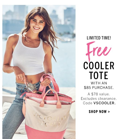 582f63d35f FRI-YAY! FREE COOLER TOTE - Victoria s Secret Email Archive
