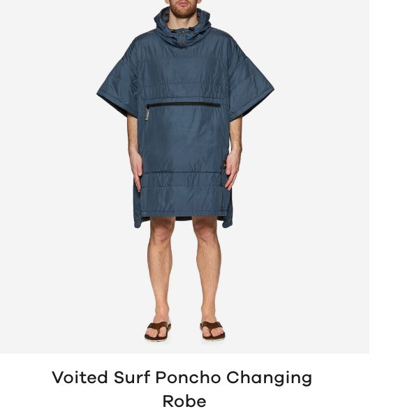 Voited Surf Poncho Changing Robe