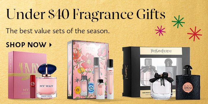 Under $40 Fragrance Gifts