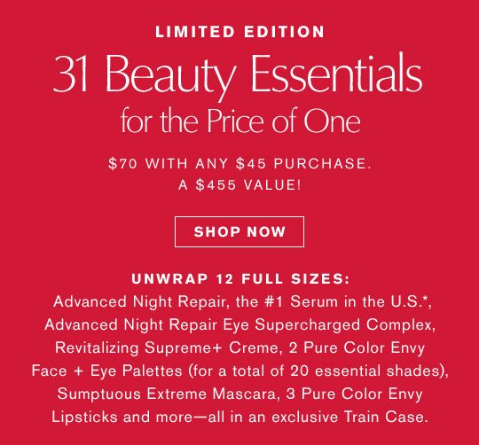 31 Beauty Essentials for the Price of One