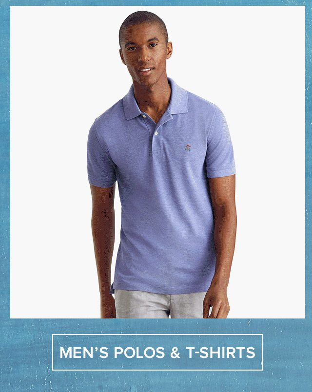 Men's Polos and T-Shirts