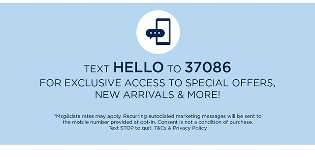 For Exclusive Access To Special Offers