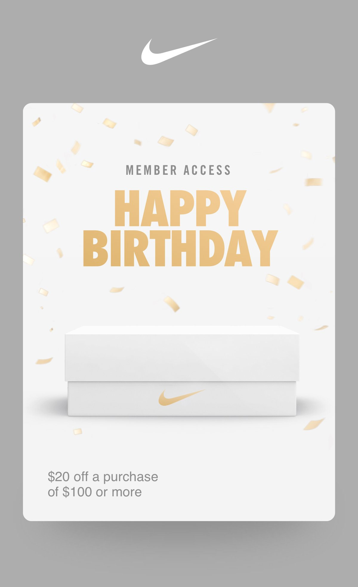 With Amazing Athletes This Month And Since Youre A NikePlus Member Were Giving You The Perfect Excuse To Treat Yourself Heres Birthday Unlock For