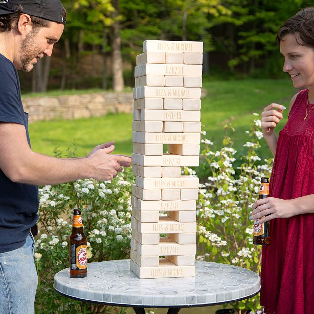Personalized Giant Tumble Tower