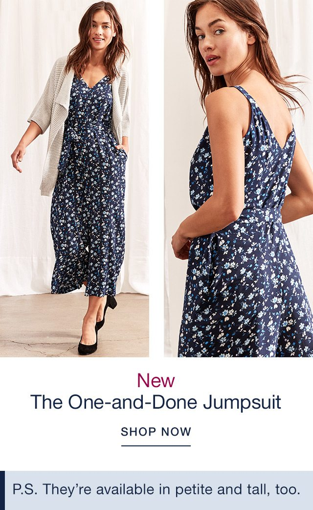 The One-and-Done Jumpsuit