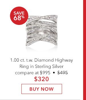 Diamond Highway Ring. Buy Now