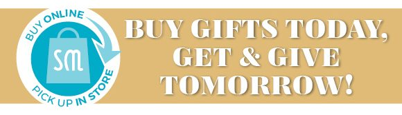 buy today, give tomorrow - shop now