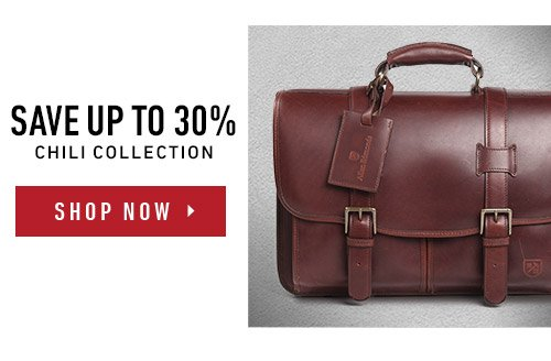 Save up to 30% on The Chili Bag Collection