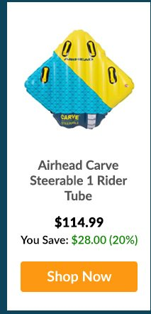 Airhead Carve Steerable 1 Rider Tube - Shop Now