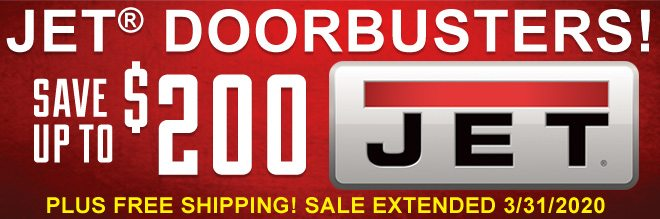 Jet Doorbusters! Save Up To $200 on Jet. Plus Free Shipping! Extended through 3/31!