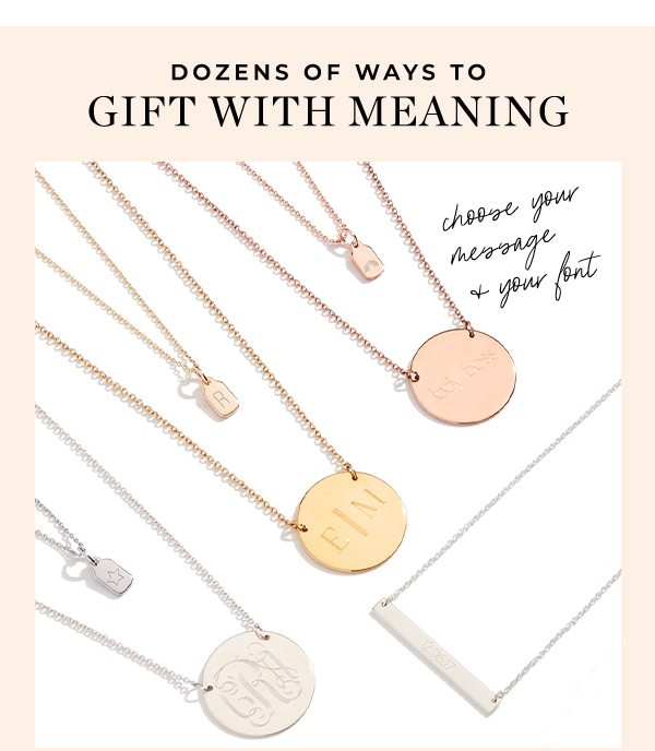 Dozens of Ways to Gift With Meaning