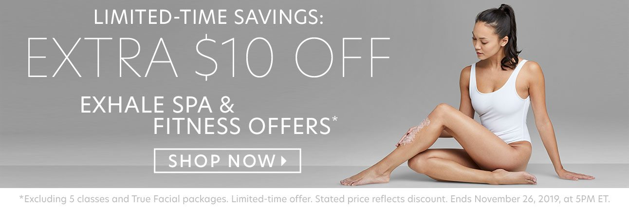 LIMITED-TIME SAVINGS: EXTRA $10 OFF