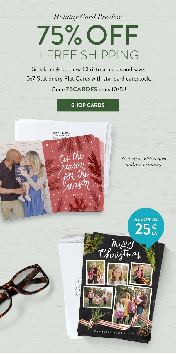 💌75% OFF CARDS + FREE SHIPPING! Save big in our Holiday Card ...