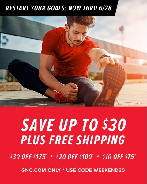 SAVE UP TO $30 PLUS FREE SHIPPING