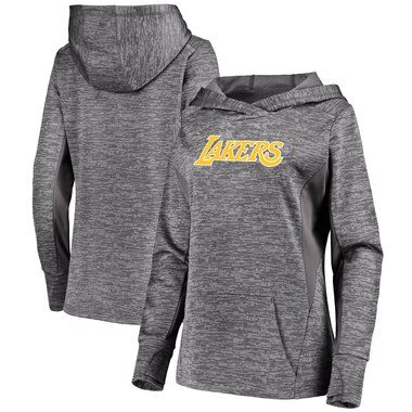 Fanatics Branded Los Angeles Lakers Women's Gray Showtime Done Better Pullover Hoodie