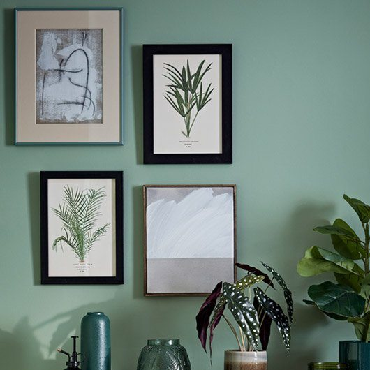 Home is where the art is. Frames destined for your walls.