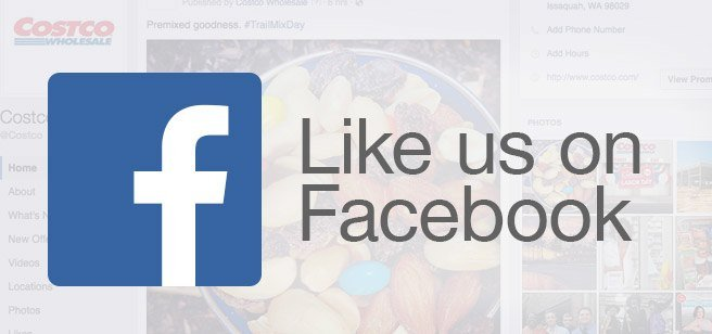 Like us on Facebook and discover the latest on special events, warehouse openings, Costco Travel packages and much more!