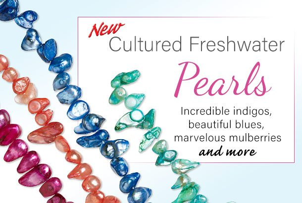 NEW Cultured Freshwater Pearls