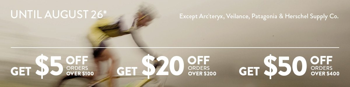 Up to $50 off your order