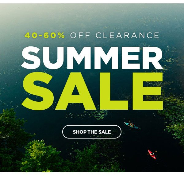 40-60% OFF Clearance Summer Sale - Click to Shop the Sale