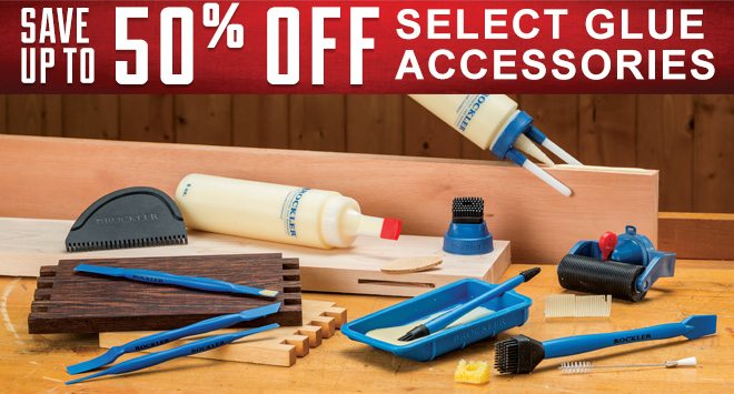 Save up to 50% On Select Glue Accessories