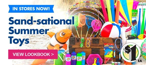 Summer Toys In Stores Now!