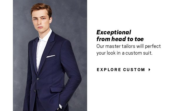 YOUR INVITATION HAS ARRIVED | Make a dashing entrance for that cocktail hour, gala or holiday party. Explore Custom, Browse Styles or Find Dinner Jackets + 9-piece Rental Packages starting at $99.99 | 40% Off Most Suit and Tuxedo Rental Packages and more - SHOP ALL
