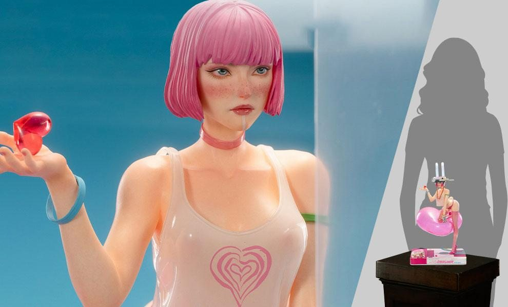 Cyberlover: Pink 1:4 Scale Statue by Damtoys
