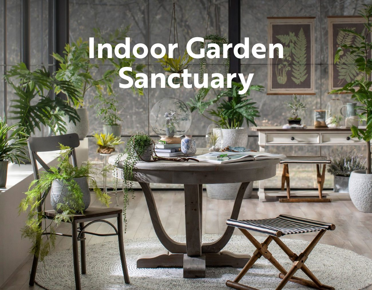 Indoor Garden Sanctuary