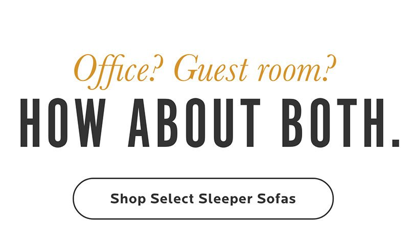 Office? Guest room? How about both. Shop now.