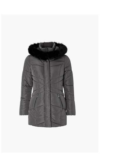 VICTORIA SHORT WRAP PADDED JACKET