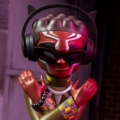 Black Panther Collectible Toy (Unruly)