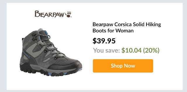 Bearpaw Corsica Solid Hiking Boots for Woman