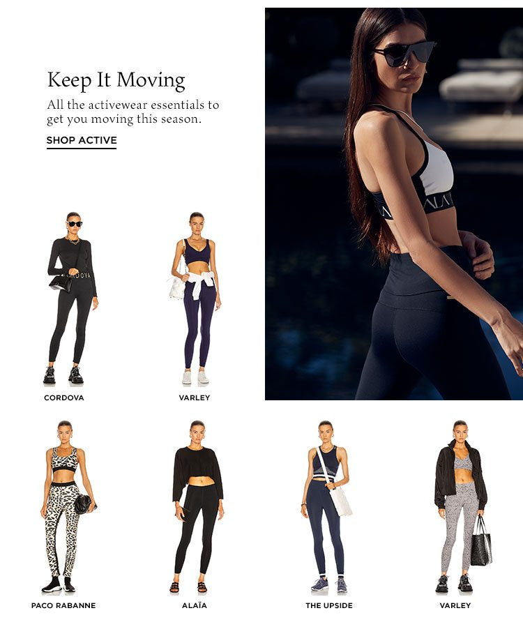 Keep It Moving - Shop active