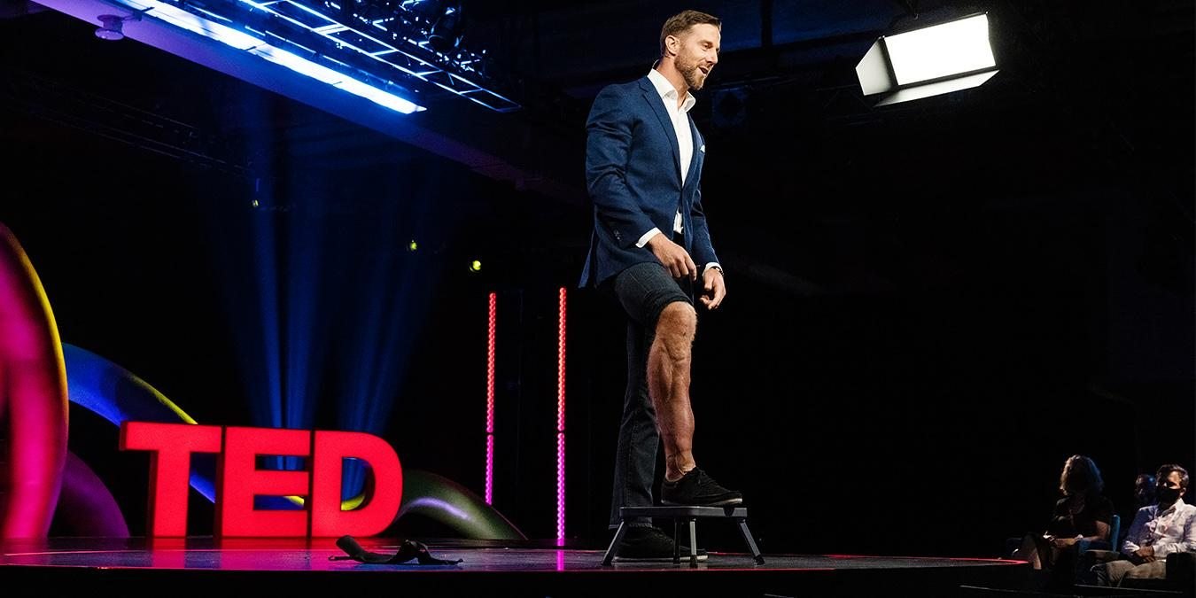 An idea from TED by Alex Smith entitled An NFL quarterback on overcoming setbacks and self-doubt