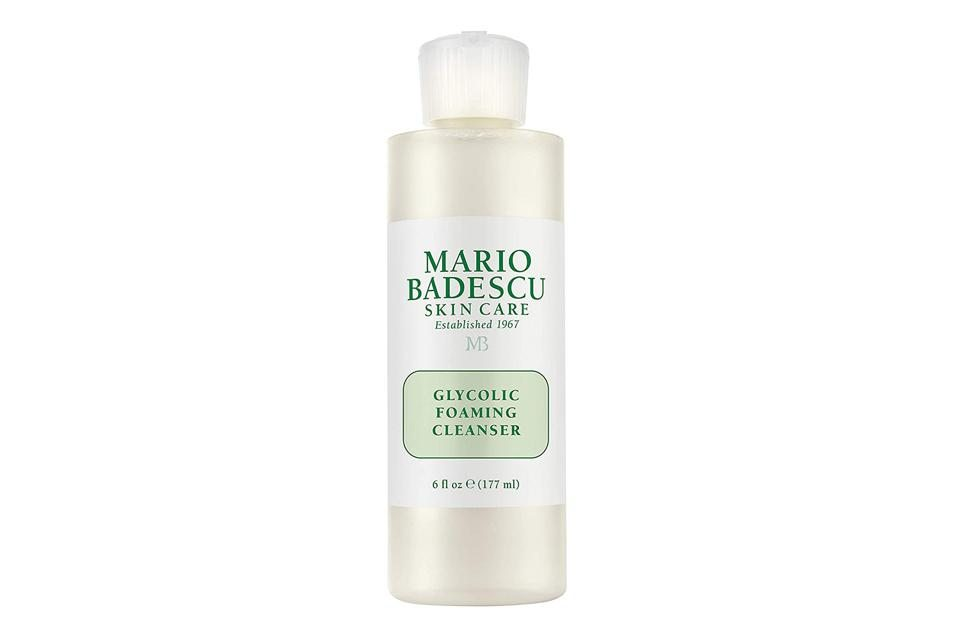 Start With A Cleanser: Mario Badescu Glycolic Foaming Cleanser