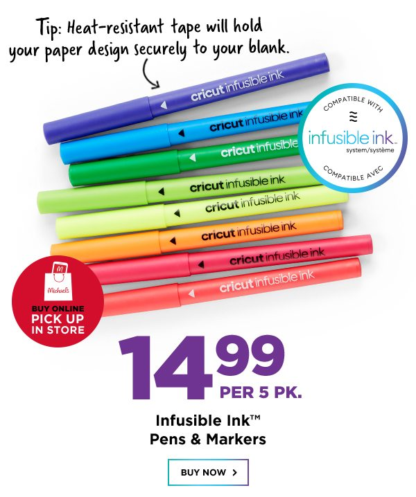 infusible ink pens markers